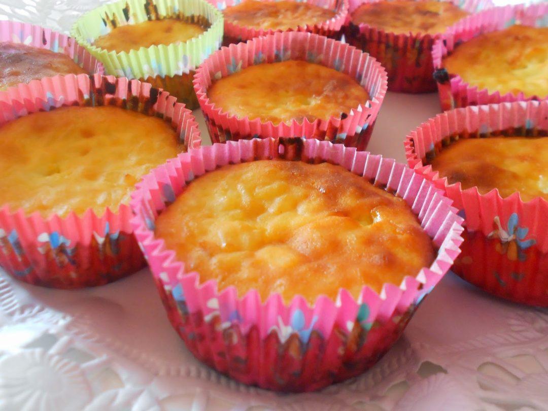 Muffin gluten-free con riso e ricotta