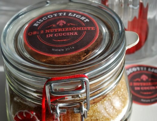 Light cookies in a jar un'idea regalo per Natale!