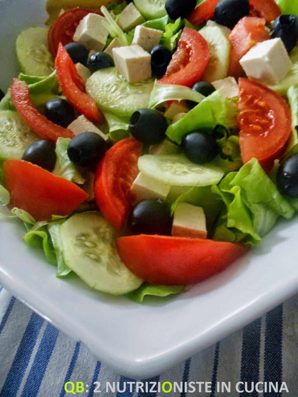 Insalata greca con tofu