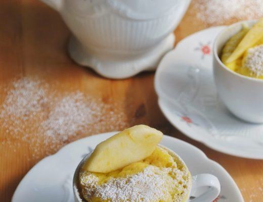 Apple mug cake ovvero torTAzza di mele