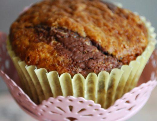 Muffin marmorizzati al caffè