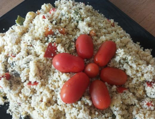 Cous cous alle verdure light con curry