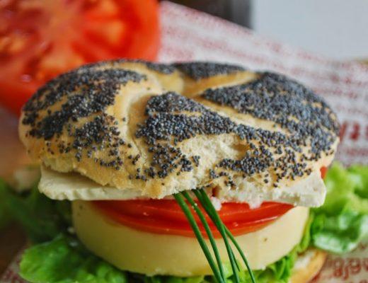 Vegan-burger di panissa