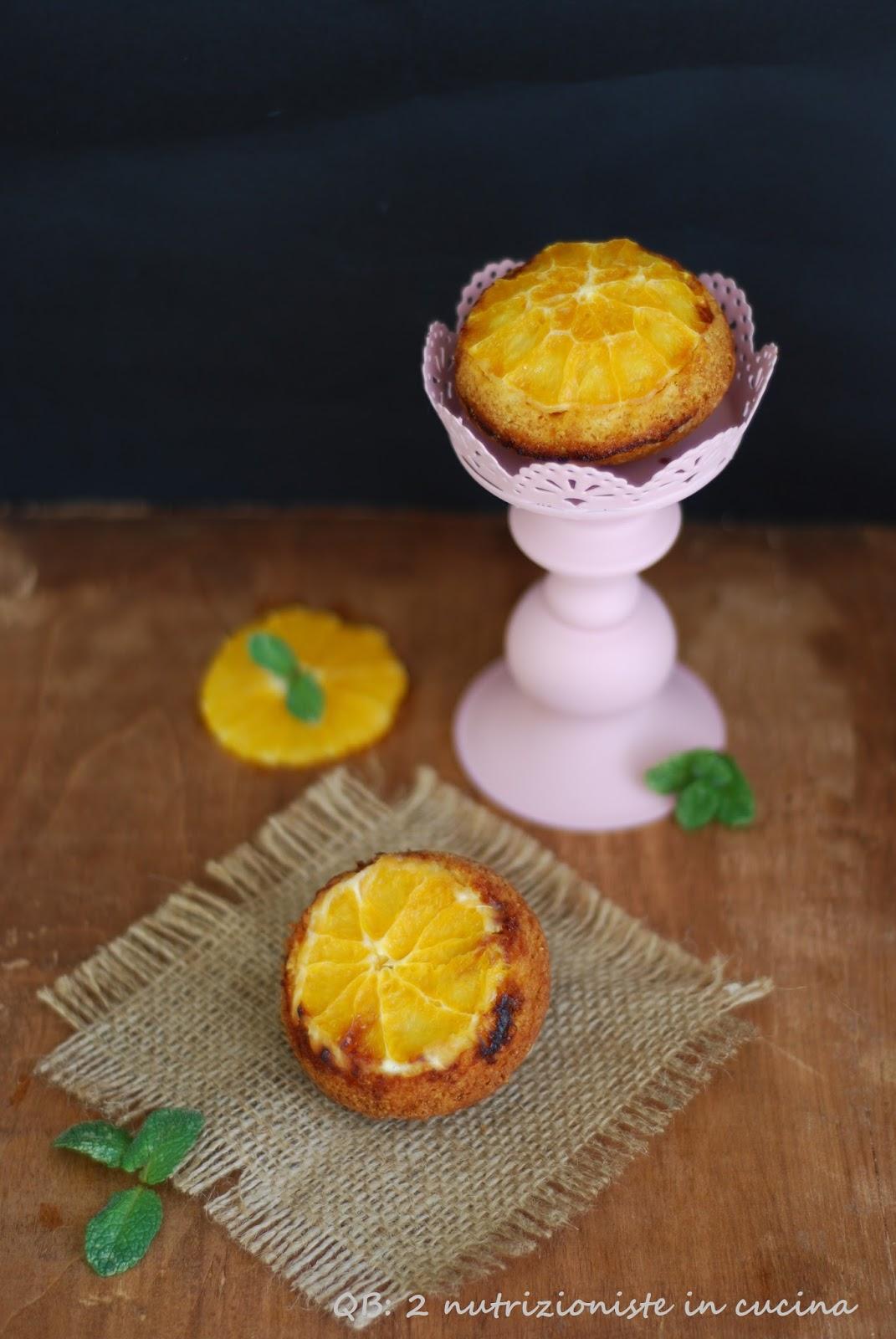 Muffin reversibili all arancio