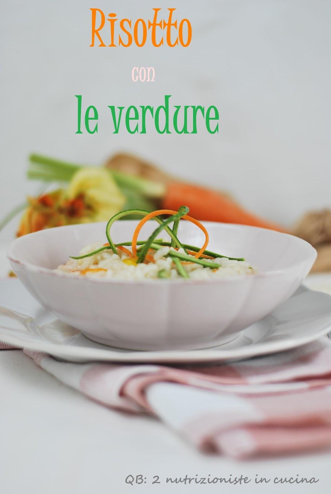 risotto verdure