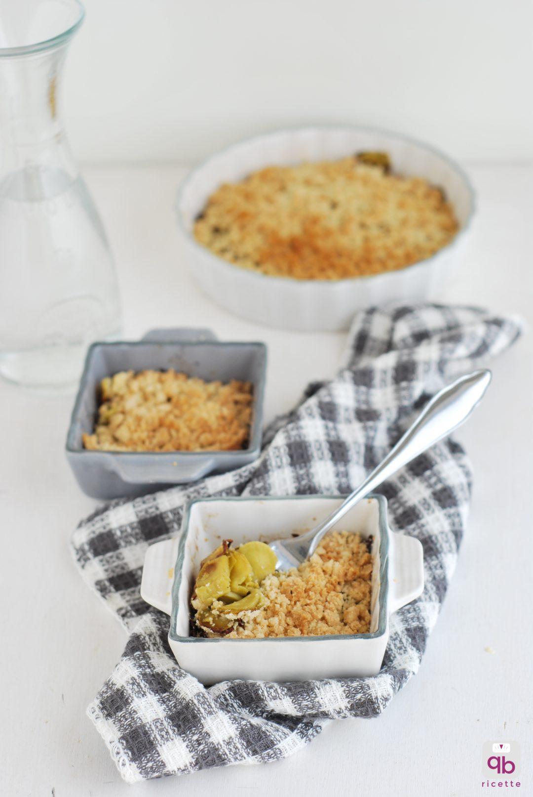 Crumble salato qb ricette for Cucinare zucchine trombetta
