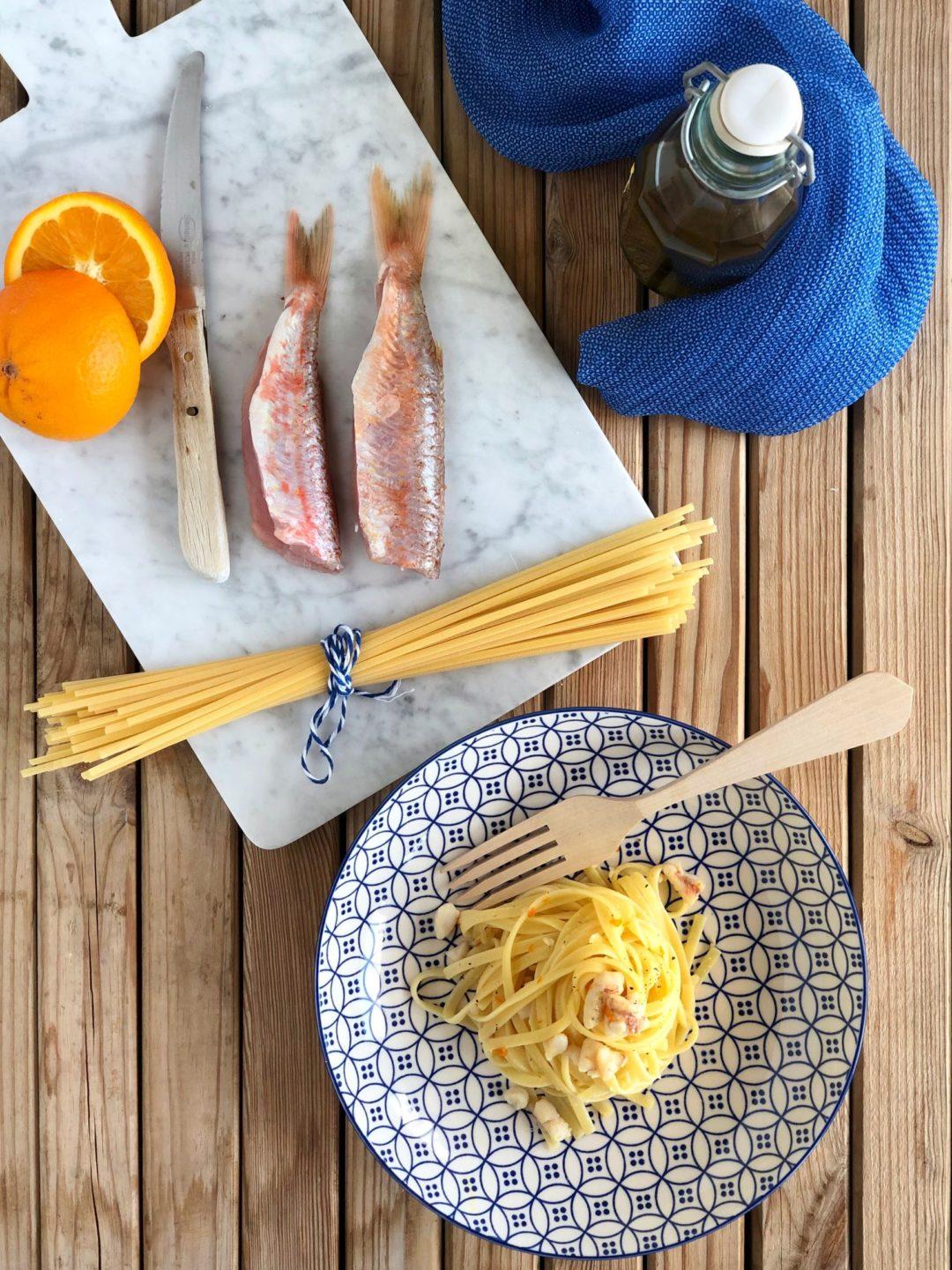 pasta con ragù di triglie